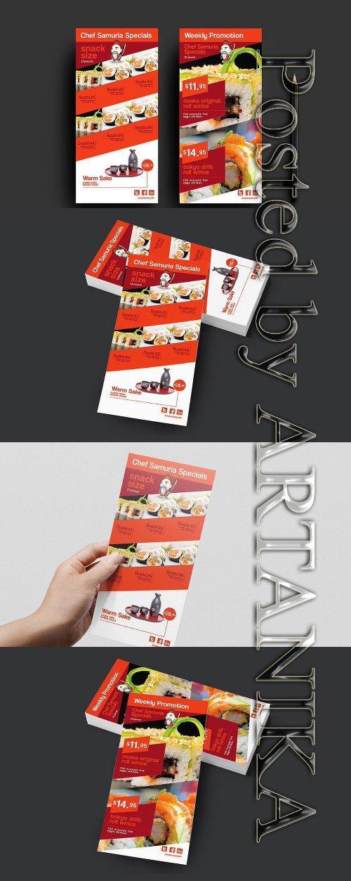 CreativeMarket - DL Sushi Restaurant Template 946748