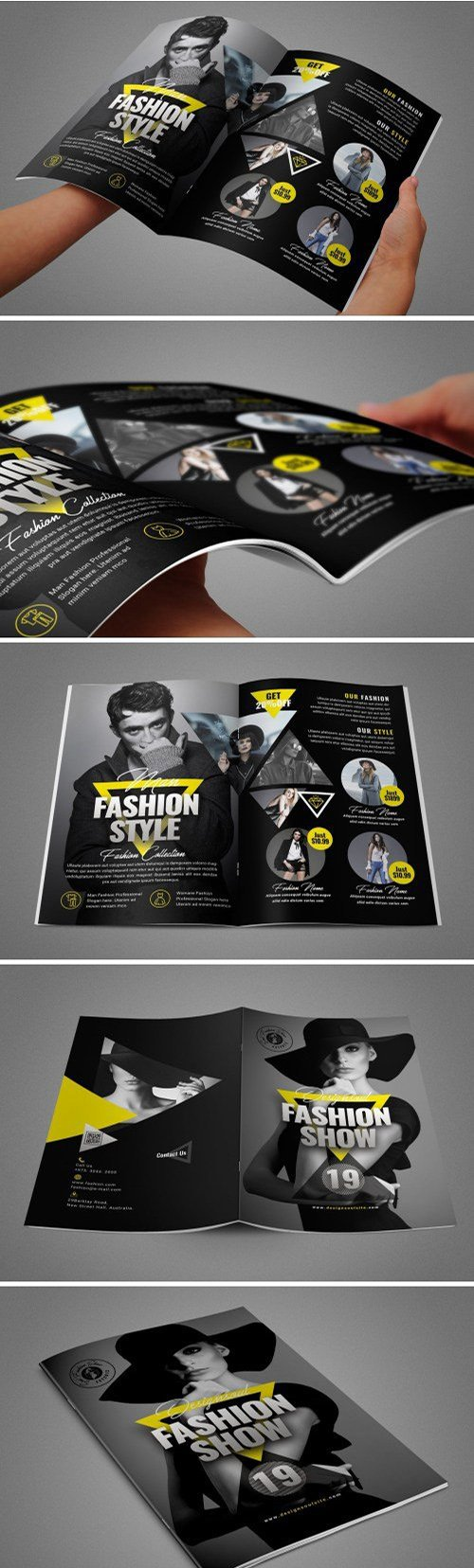 Fashion Bifold Brochure
