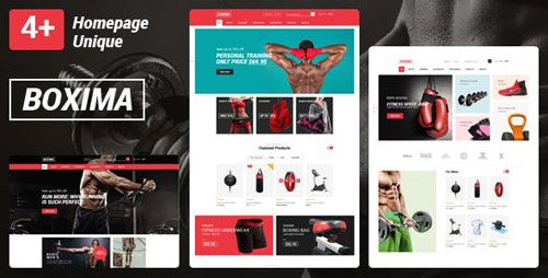 ThemeForest - Boxima v1.0 - Sport OpenCart Theme (Page Builder Layouts) - 23674097