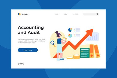 Accounting and Audit Landing Page