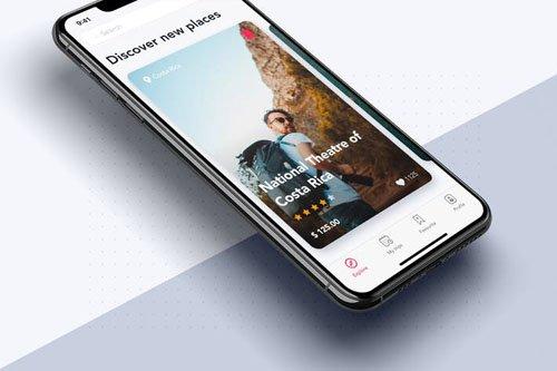 Discover new places UI for Travel App - 4V9LKNU