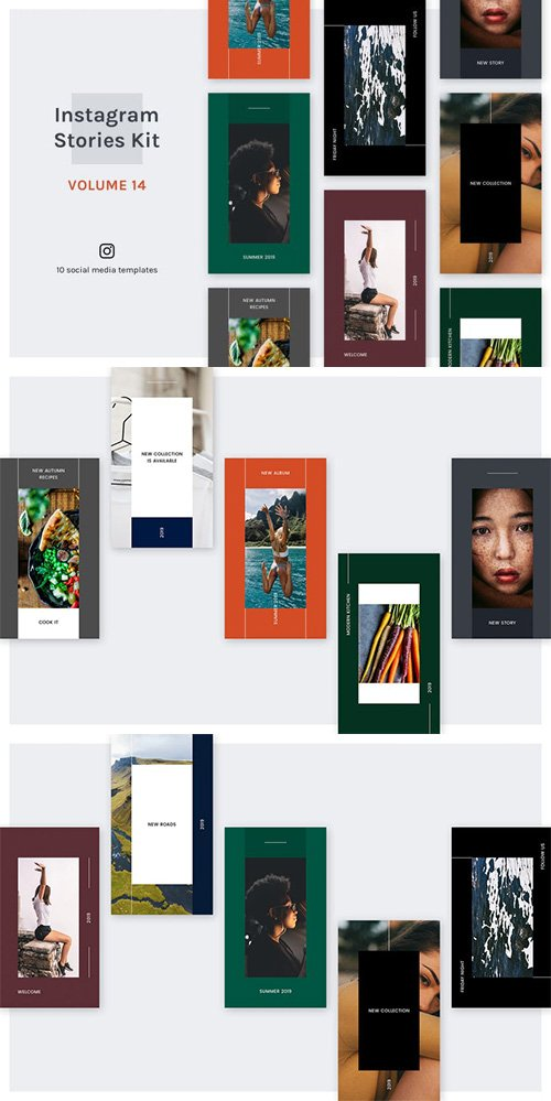 Instagram Stories Kit (Vol.14)