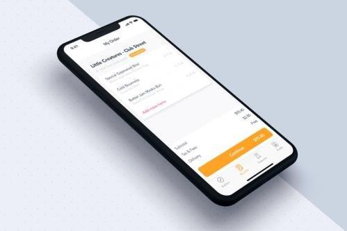 My order app template for Food - 76DKAPL