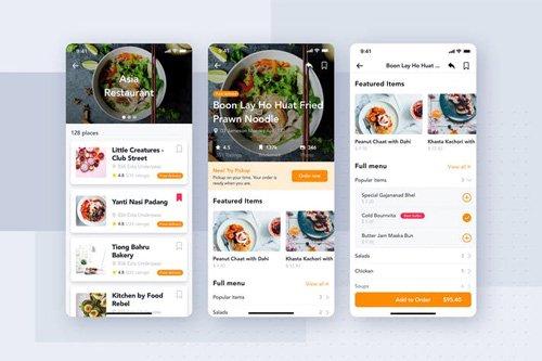Restaurant mobile app kit - KL3WADB