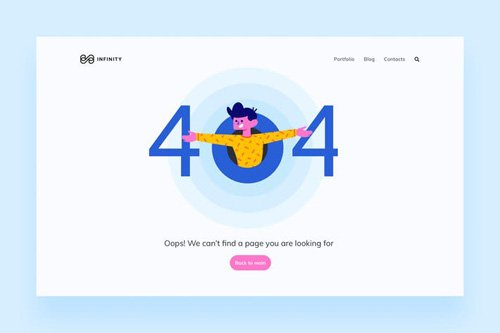 404 Page Illustrations 2