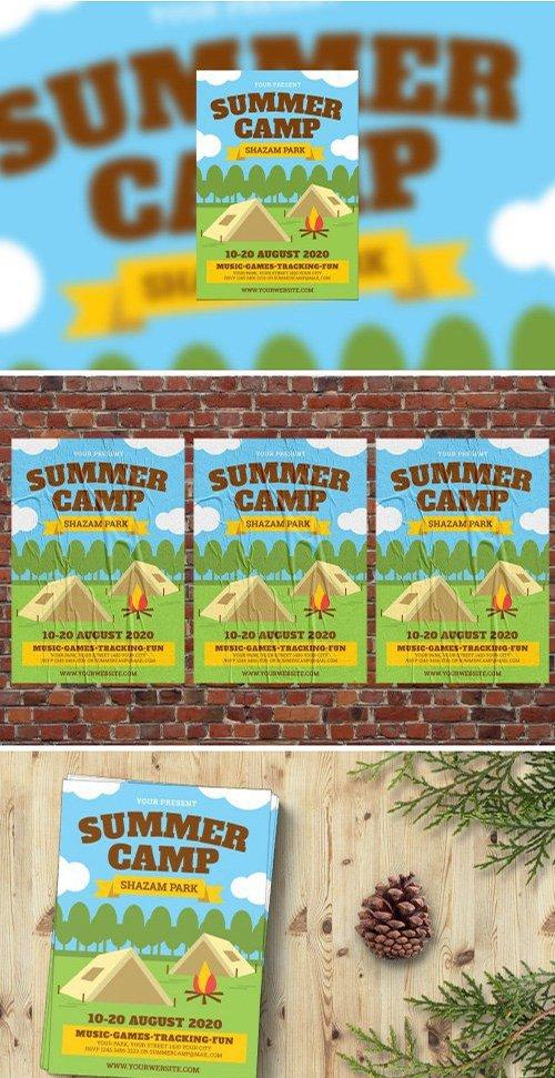 Summer Camp Flyer PSD
