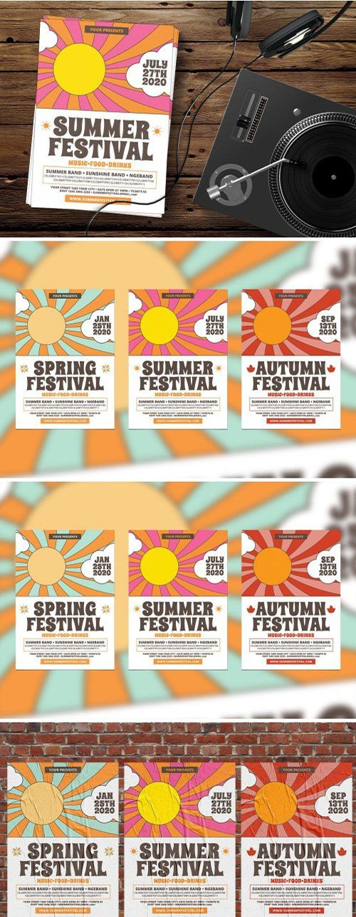 Seasonal Festival PSD