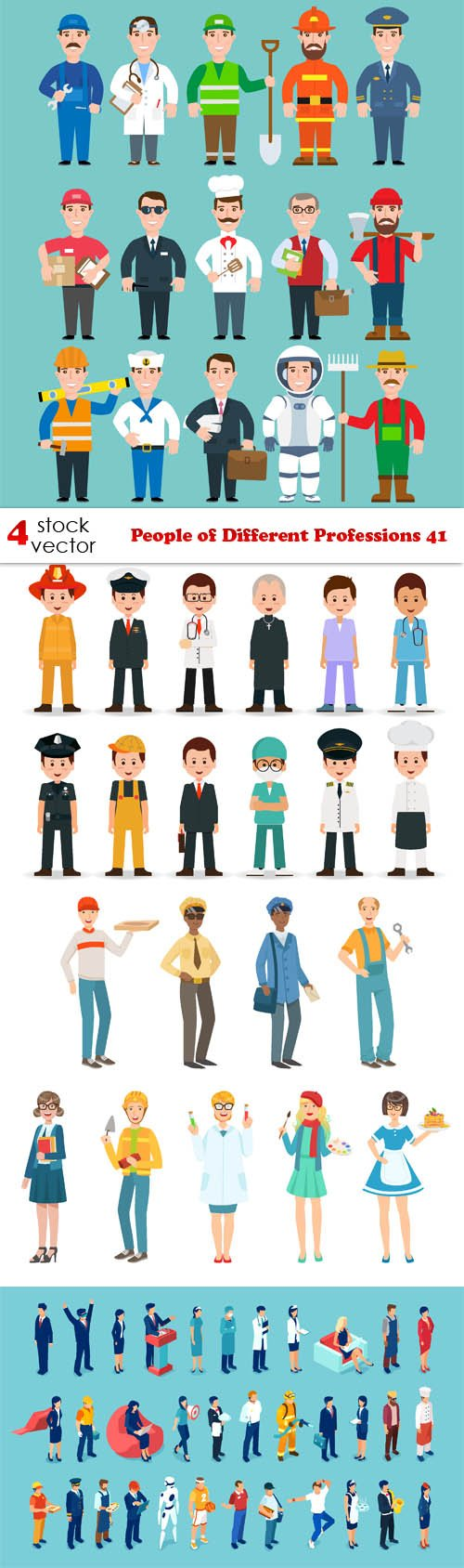 Vectors - People of Different Professions 41