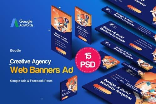 Creative Agency, Business Banners Ad - BAHT46C