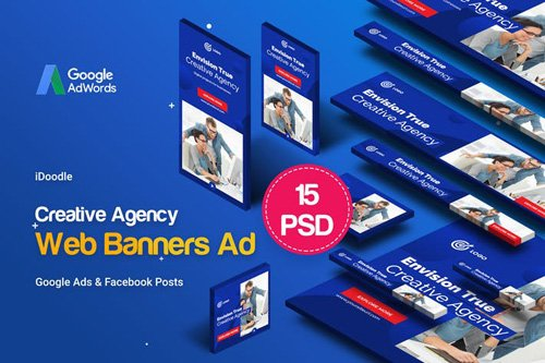 Creative Agency, Business Banners Ad - EZ3PLQ8