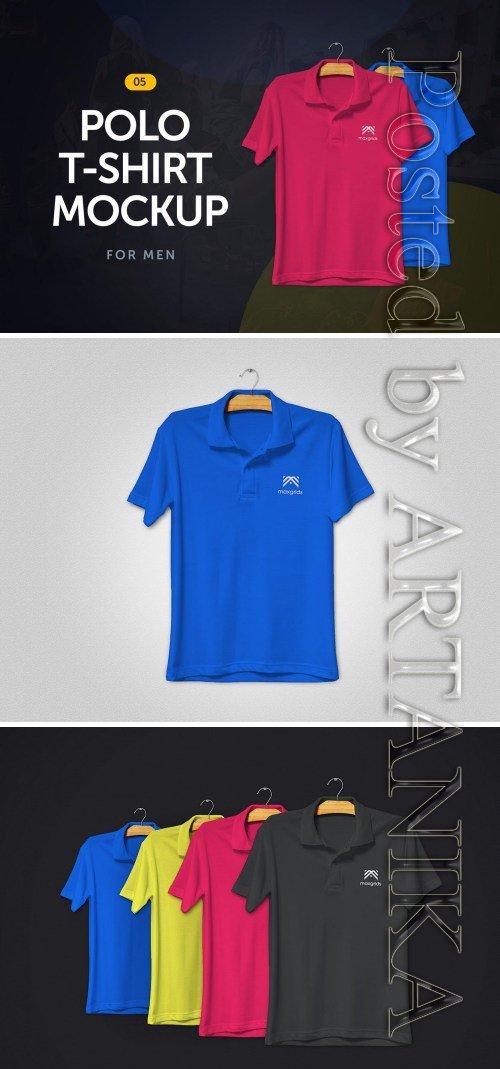 Polo T-Shirt Mockup 5.0