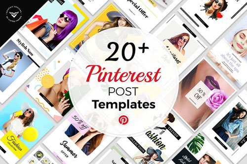 Pinterest Social Media Templates - 65Y79XK
