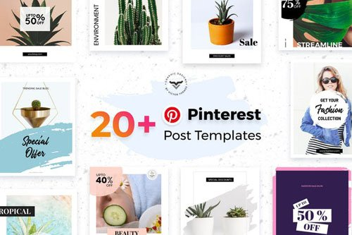 Pinterest Social Media Templates - 9QXPJE8