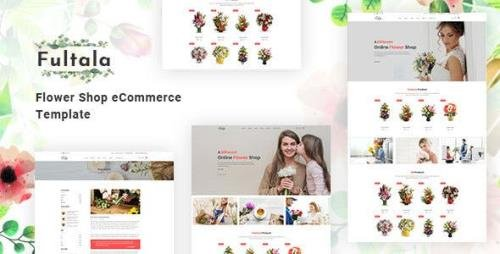 ThemeForest - Fultala v1.0 - Flower Shop eCommerce Template - 23705293