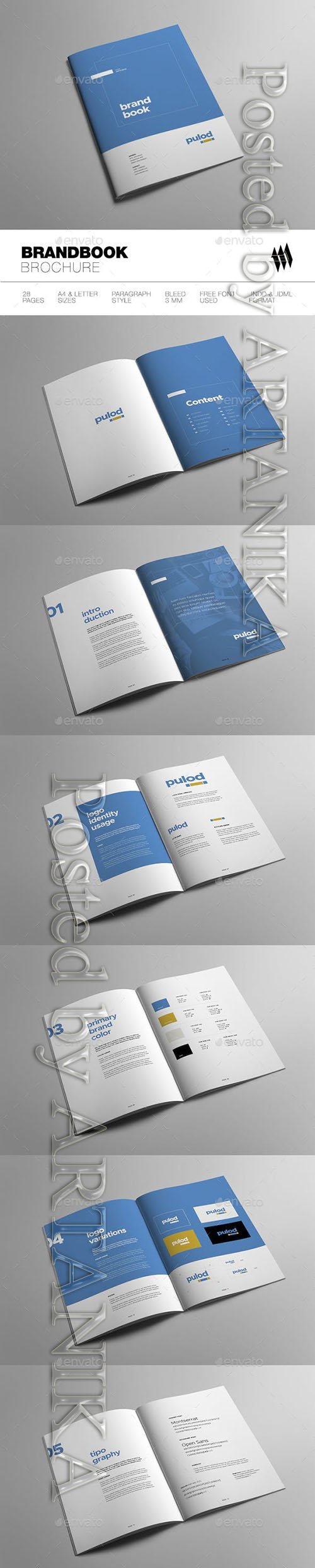Graphicriver - Minimal Brand Book 19232153