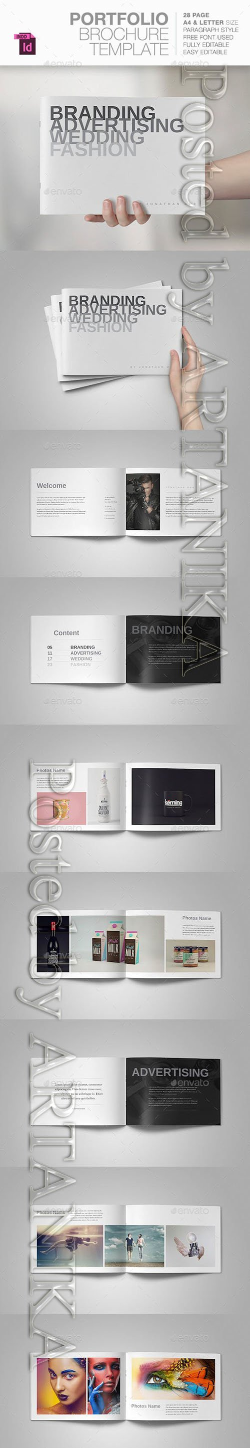 Graphicriver - Portfolio Brochure Template 10593768