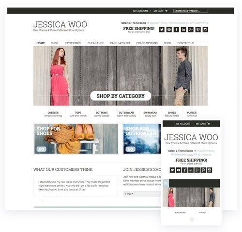 StudioPress - Jessica v1.7.1 - Genesis Framework Theme