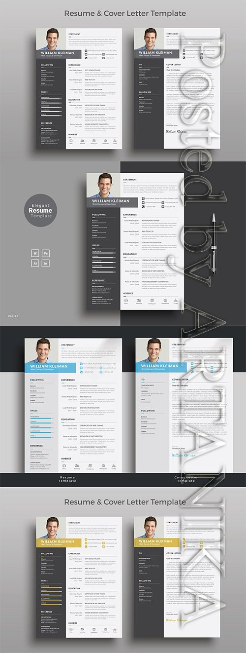 CreativeMarket - Resume/CV 1148171