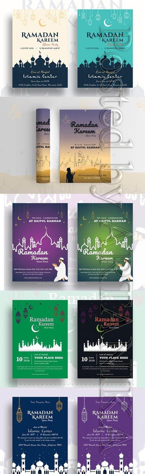 Ramadan Kareem Day Flyer Bundle
