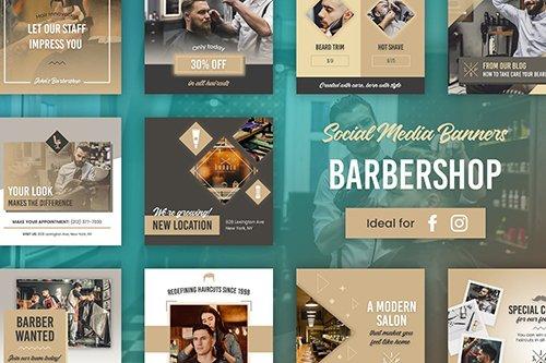 Barbershop Banners