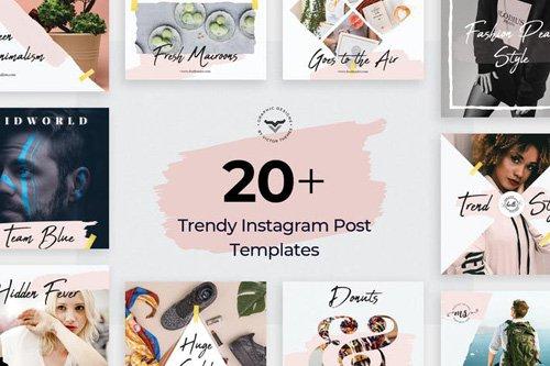 Instagram Post Templates - 35QH2WV