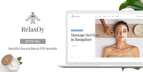 ThemeForest - RelaxOy v1.0 - Spa & Beauty PSD Template - 23211929