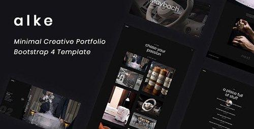 ThemeForest - Alke v1.0 - Minimal Creative Portfolio Template - 22975209