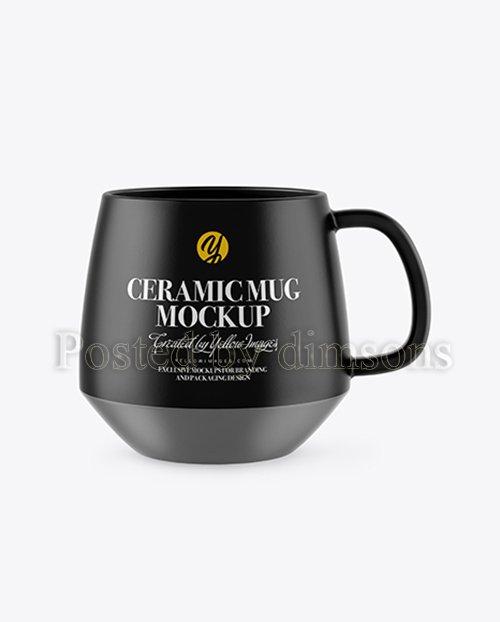 Matte Ceramic Mug Mockup 42612 TIF