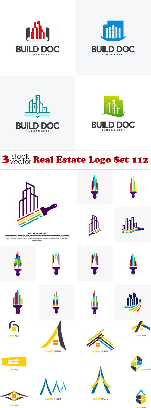Vectors - Real Estate Logo Set 112