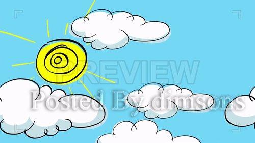 MotionArray - Sunny Day Animated Cute BG 207983