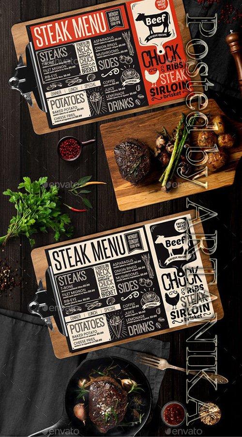 GR - Steak Food Menu 21956855