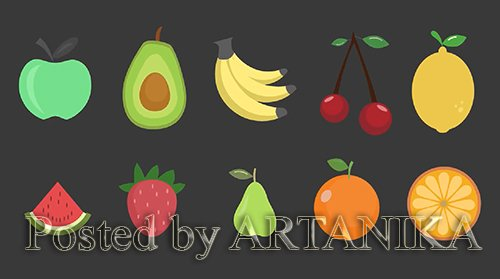 Fruits Animated Icons 199541