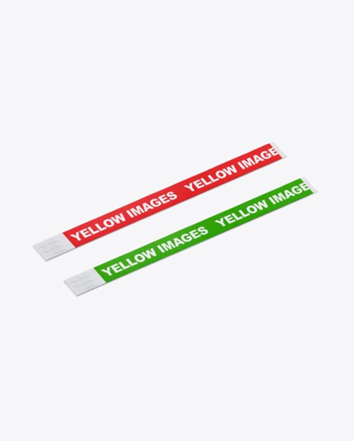 TIF Event Wristbands Mockup 43171