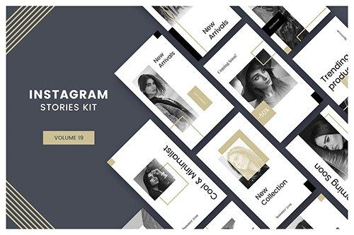 Instagram Stories Kit (Vol.19) PSD