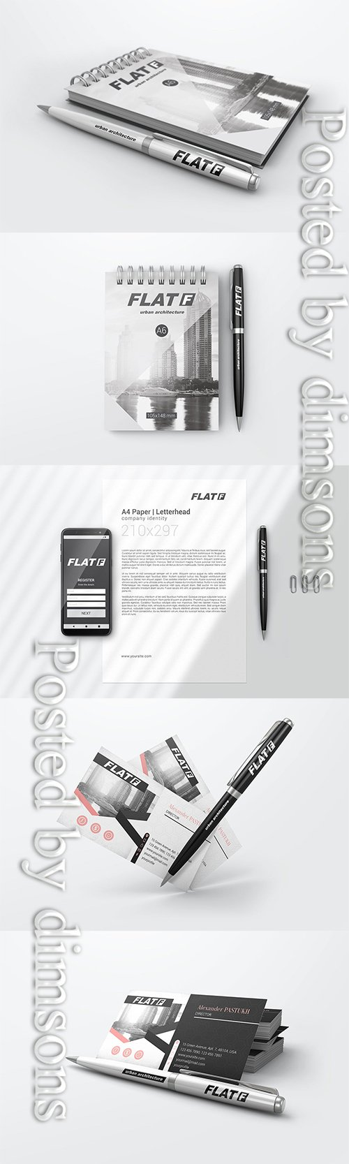 Pen Mockups 02 PSD