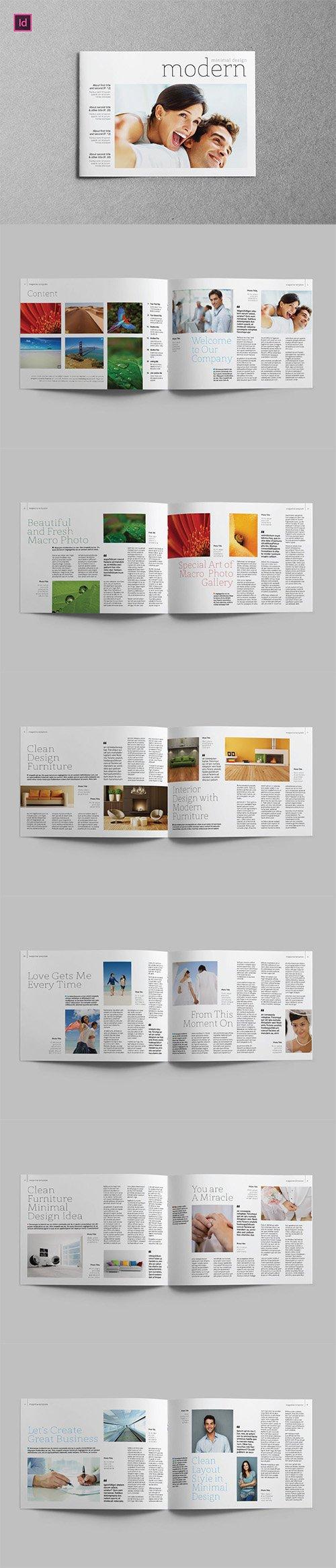 MODERN - Brochure A5 Landscape INDD