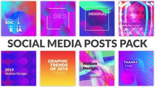 MotionArray - Social Media Posts Pack 216922