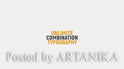 MotionArray - Kinetic Typography Title 215776