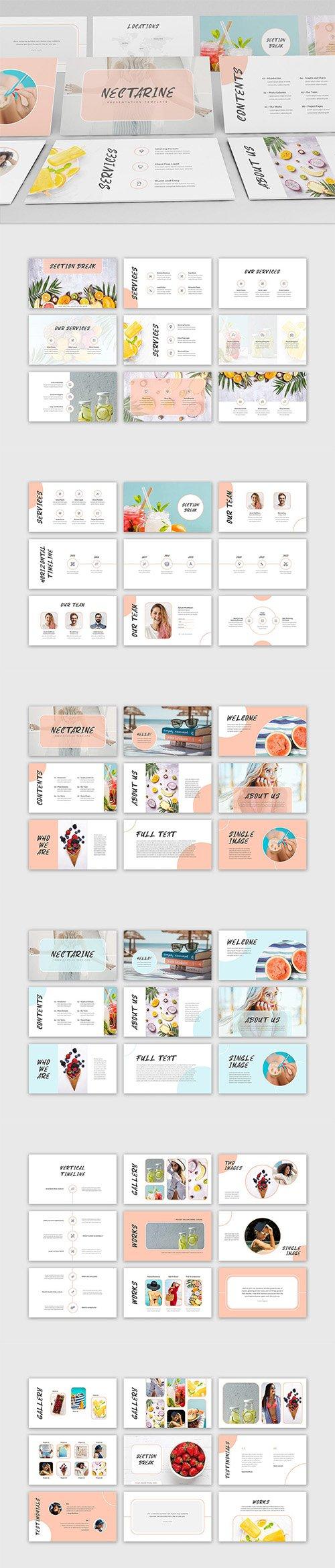 Nectarine PowerPoint Presentation Template