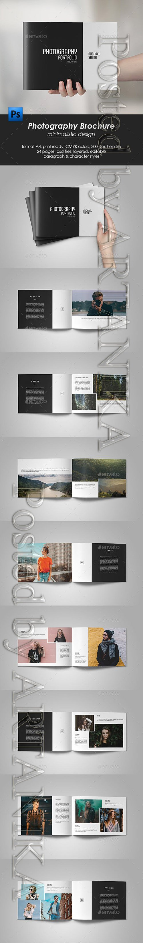 Photography Portfolio Brochure 21186831