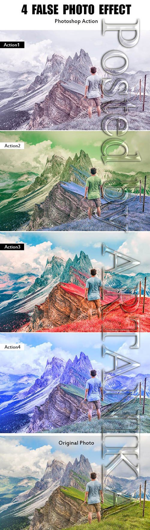 GraphicRiver - 4 False Photo Effect 21193134