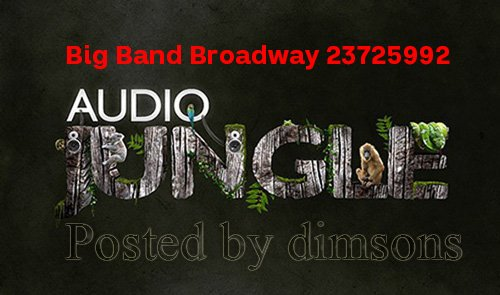 Big Band Broadway 23725992