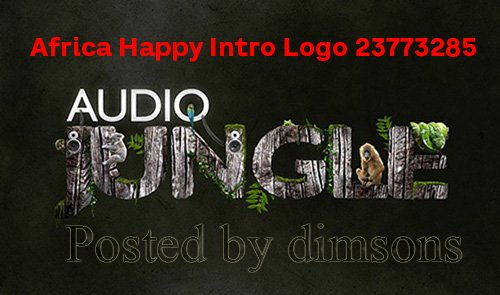 Africa Happy Intro Logo 23773285