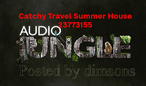 Catchy Travel Summer House 23773155