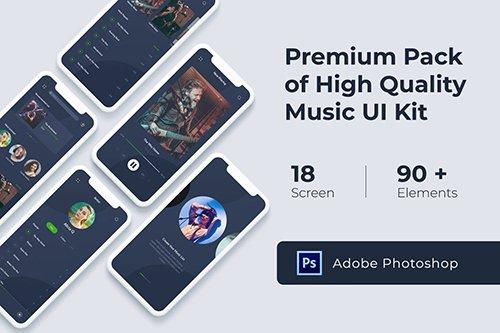 Music Audio Play App UI KIT