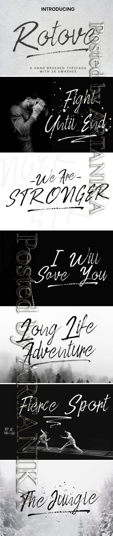 Rotove Script Font 3756494