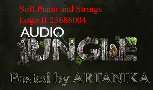 Soft Piano and Strings Logo II 23686004