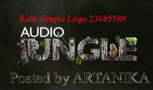 Kids Simple Logo 23685589