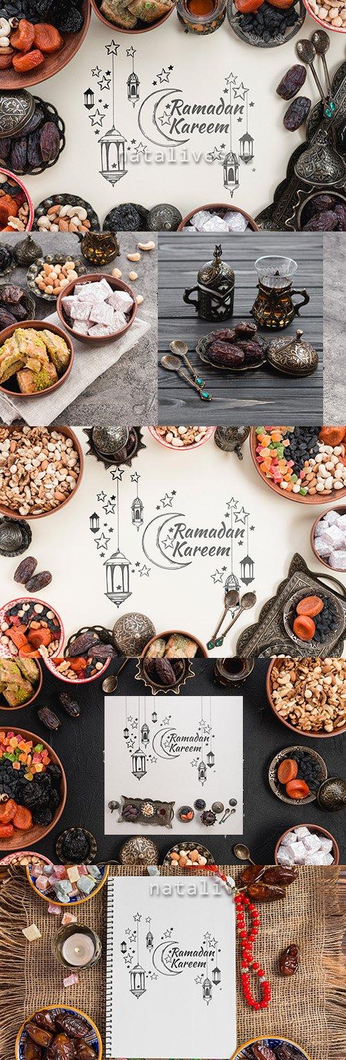 Ramadan Kareem design Mockup Pack