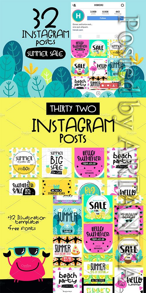 CM - 32 Instagram Post-SUMMER Sale 2298633